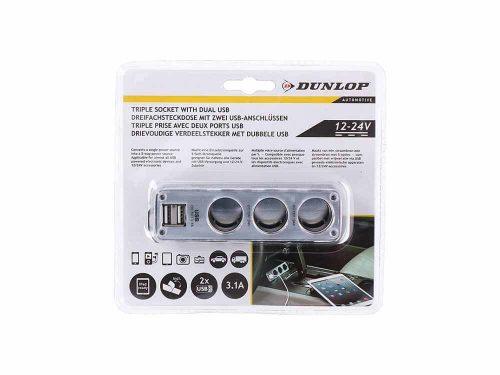 USB chargeur triple 12/24v 3,1A